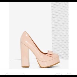 NEW Sz. 7 Jeffery Campbell Madolen Pink platforms
